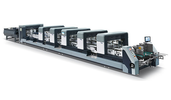 Automatic High Speed Intelligent 4-6 Corner Folder Gluer XL