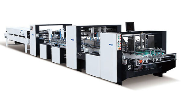 Automatic High-speed Folding Gluing Machine For Paper Boxes AC Series
