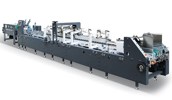 Automatic Paper Boxes Bottom Lock Folding Gluing Machine AS Series