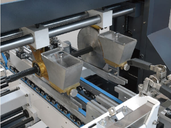 Cardboard Box Bottom Lock Gluer Folder details (1)