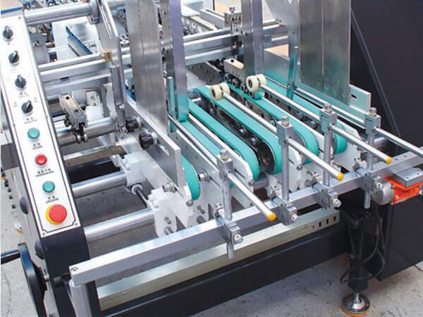 Folder-Gluer Machine for Cardboard Box GS Series China Manufacturer details Paper Feeding Section