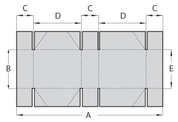Folding Gluing Machine for 6 corners box