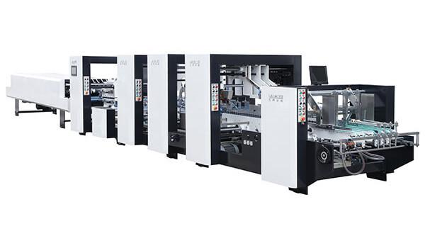 Folding Gluing Machine for Bottom Lock Box PC Series
