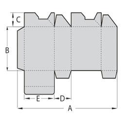 Folding Gluing Machine for Crash lock bottom box
