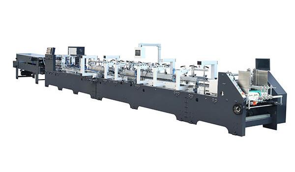 High-Speed Box Folder Gluer Machine CS Series
