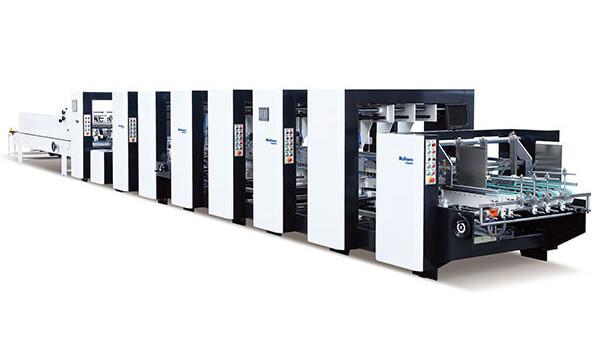 PCS Automatic Corrugated Box Folder Gluer Machine PCS Series